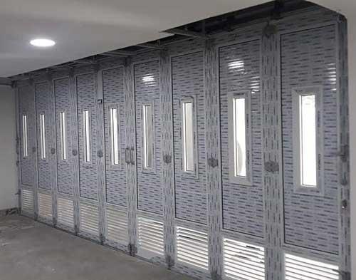 Pintu-Garasi-UPVC